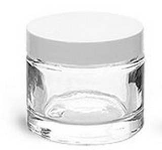 2 ounce glass jar - 10% discount in the post
