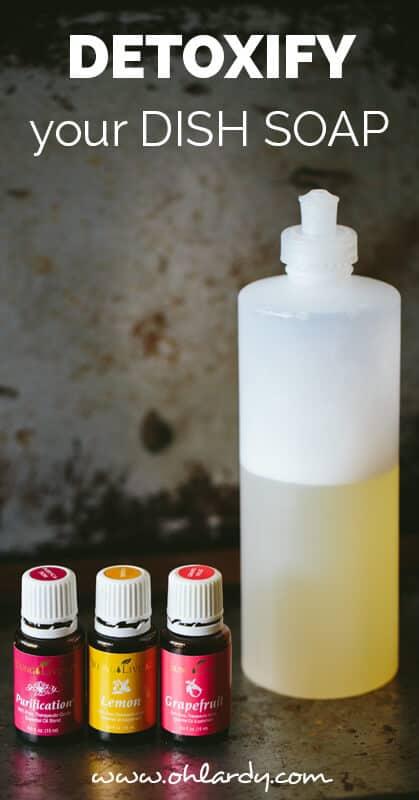 homemade dish soap - ohlardy.com