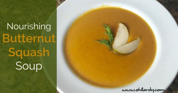 Nourishing Butternut Squash Soup Recipe