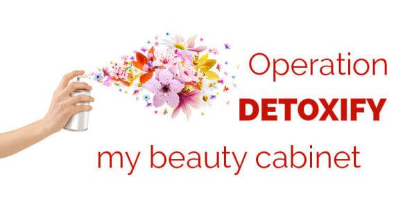 detoxify my beauty cabinet - ohlardy.com