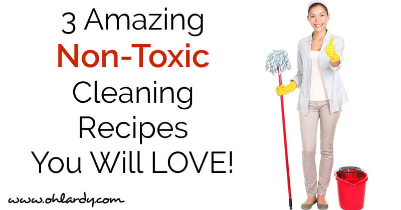 3 Amazing Non-Toxic DIY Cleaning Recipes - www.ohlardy.com