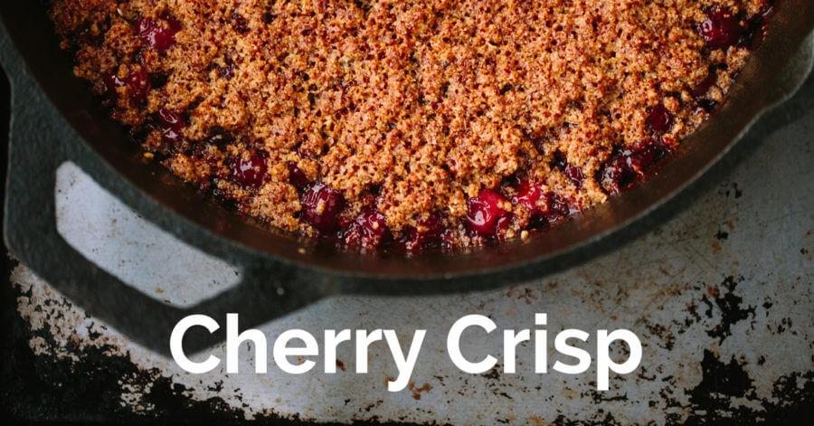 Cherry crisp - ohlardy.com
