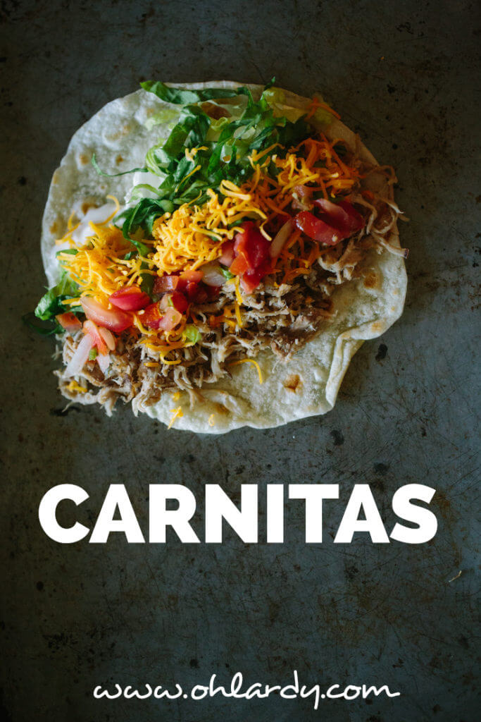 Pork Carnitas recipe - Perfect for Taco Tuesday