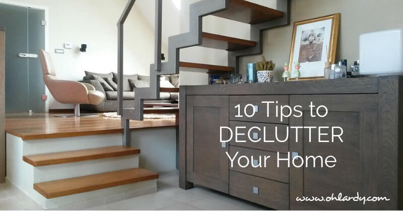 10 Tips to Declutter Your Home