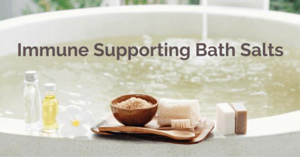 Immune Supporting Bath Salts