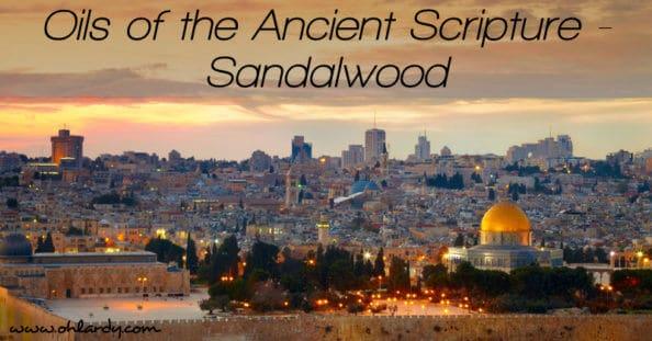 Oils of the Ancient Scripture - Sandalwood